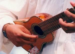 Chanrango instrument d'Amérique du sud