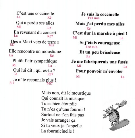 La fourmicinelle : une chanson pour les petits n'enfants