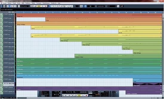 Processus de composition orchestrale assistée par ordinateur