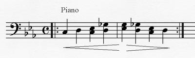Leitmotiv piano